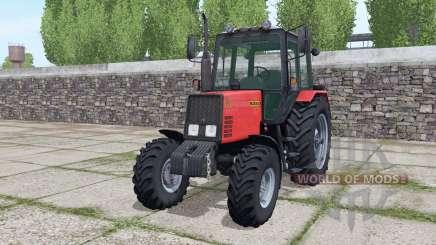 MTZ-952 Biélorussie avec chargeur pour Farming Simulator 2017