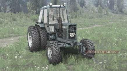 MTZ-82.1 / roues jumelées pour MudRunner