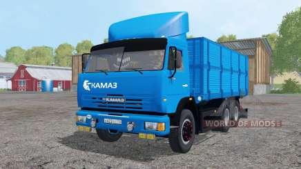 KamAZ 45143-remorque NefAZ pour Farming Simulator 2015