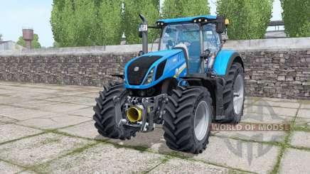 New Holland T7.290 Michelin XeoBib pour Farming Simulator 2017