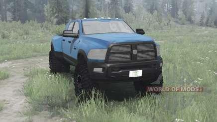 Dodge Ram 3500 Heavy Duty Crew Cab pour MudRunner