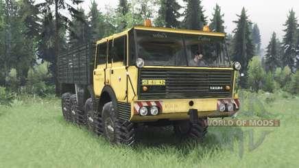 Tatra T813 TP 8x8 1967 v1.3 pour Spin Tires