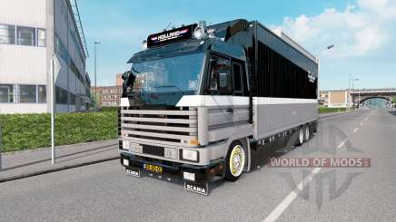 Scania R143M Topline The Old Pirate pour Euro Truck Simulator 2