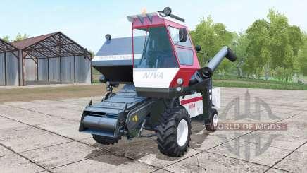 SK-5МЭ-1 Niva Effet deux en-têtes pour Farming Simulator 2017
