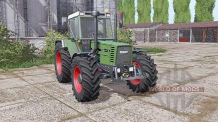 Fendt Favorit 611 LSA Turbomatic E dual rear pour Farming Simulator 2017