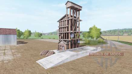 WoodChip Storage v1.1 für Farming Simulator 2017