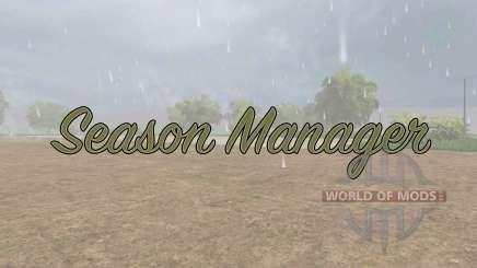 Season Manager v0.6 pour Farming Simulator 2017