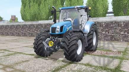 New Holland T6.070 interactive control pour Farming Simulator 2017