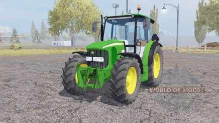 John Deere 5100R front loader für Farming Simulator 2013