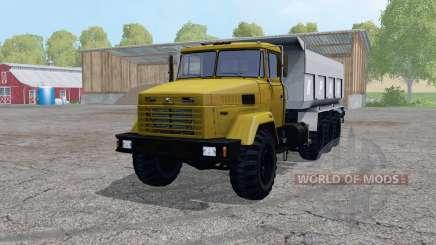 KrAZ 7140С6 pour Farming Simulator 2015