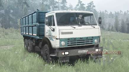 KamAZ 55102 6x4 pour MudRunner