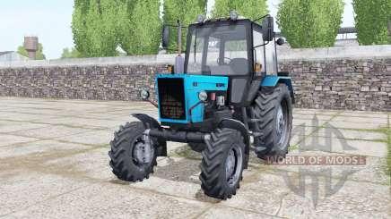 MTZ-82.1 de la Biélorussie avec l'animation des parties pour Farming Simulator 2017