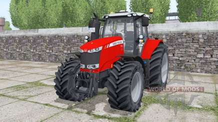 Massey Ferguson 7724 Michelin XeoBib pour Farming Simulator 2017