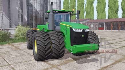 John Deere 9520R twin wheels für Farming Simulator 2017