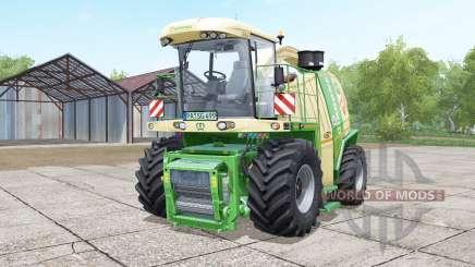 Krone BiG X 1100 SGDW pour Farming Simulator 2017