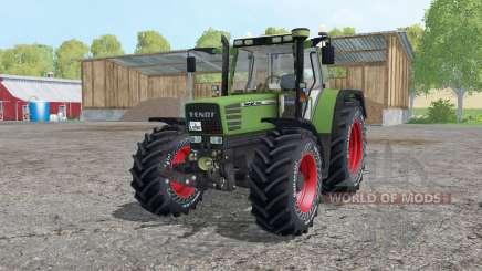 Fendt Favorit 515C Continental tyres pour Farming Simulator 2015