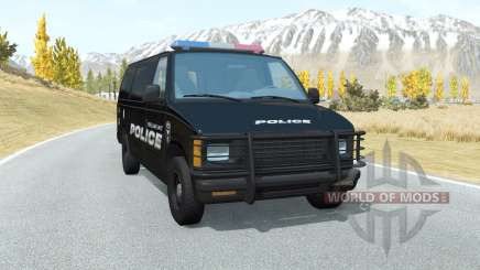 Gavril H-Series Belmont Police für BeamNG Drive