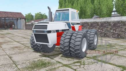 Case 2870 Traction King twin wheels pour Farming Simulator 2017
