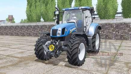 New Holland T6.155 Tier 4A pour Farming Simulator 2017