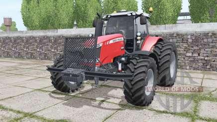 Massey Ferguson 7720 More Realistic pour Farming Simulator 2017