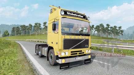 Volvo F12 soft yellow pour Euro Truck Simulator 2