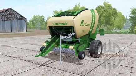 Krone Fortima V 1500 green für Farming Simulator 2017