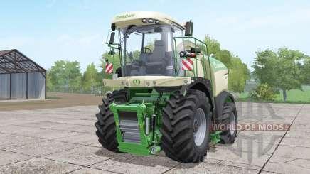 Krone BiG X 580 long pipe pour Farming Simulator 2017