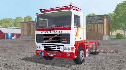 Volvo F12 with semitrailers pour Farming Simulator 2015