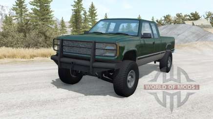 Gavril D-Series Extended Cab lifted v1.1 pour BeamNG Drive