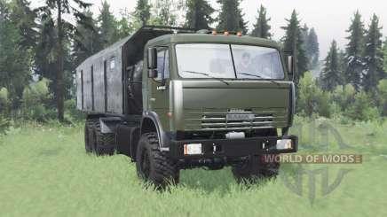 KamAZ 43118 long de la base de pour Spin Tires