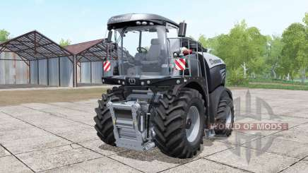 Krone BiG X 580 black pour Farming Simulator 2017