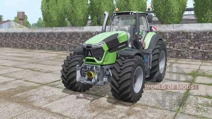 Deutz-Fahr Agrotron 9340 TTV Power Engine pour Farming Simulator 2017