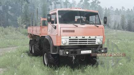 KamAZ 4310 6x6-weich-rot für MudRunner