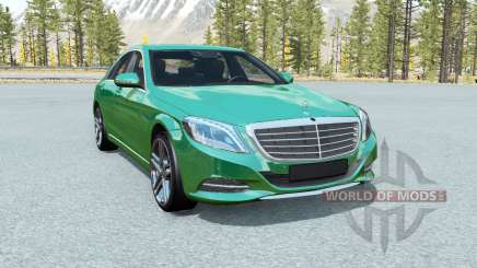 Mercedes-Benz S 500 (W222) 2013 pour BeamNG Drive