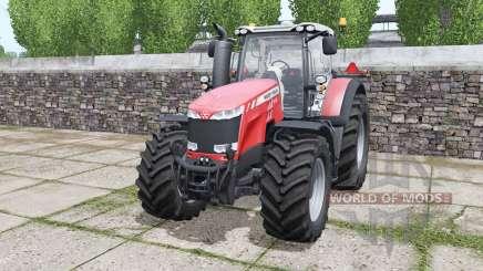 Massey Ferguson 8732 More Realistic pour Farming Simulator 2017