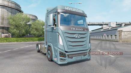 Hyundai Trago Xcient 2013 pour Euro Truck Simulator 2