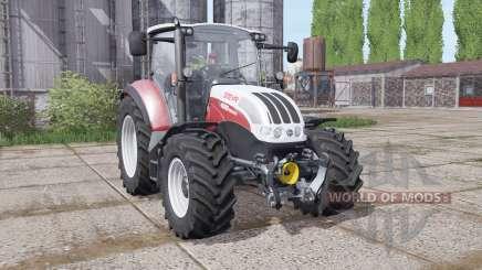 Steyr Multi 4095 2013 dynamic hoses pour Farming Simulator 2017