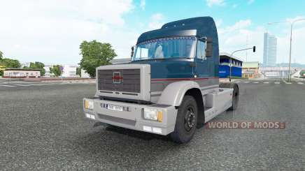 ZIL MMZ 5423 bleu foncé pour Euro Truck Simulator 2