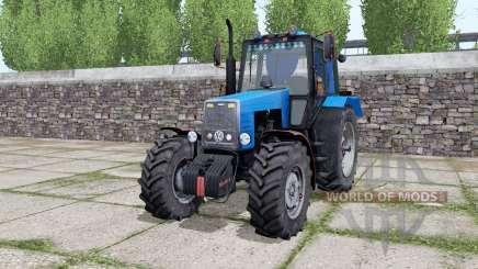 MTZ-1221 Bélarus est tempéré-bleu pour Farming Simulator 2017