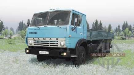 KamAZ 53212 bleu pour Spin Tires