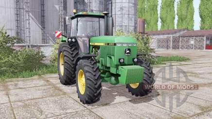 John Deere 4850 twin wheels für Farming Simulator 2017