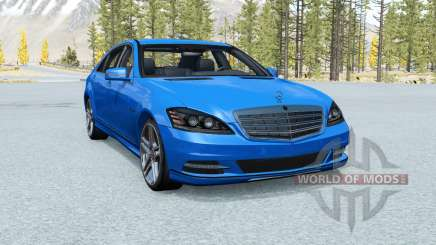 Mercedes-Benz S 600 (W221) 2009 pour BeamNG Drive
