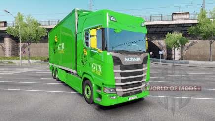 Scania S 730 Highline Tandem v3.0 pour Euro Truck Simulator 2