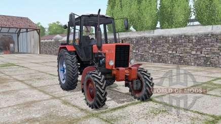 MTZ 82 Biélorussie animation des portes pour Farming Simulator 2017