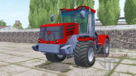 Kirovets K-744Р4 rouge vif pour Farming Simulator 2017