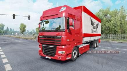 DAF XF105 Super Space Cab Tandem pour Euro Truck Simulator 2