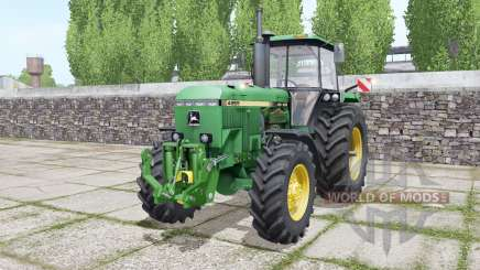 John Deere 4955 twin wheels pour Farming Simulator 2017