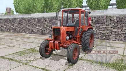 MTZ 80 Biélorussie tracteur à roues jumelées à l'arrière pour Farming Simulator 2017