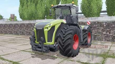CLAAS Xerion 4000 Trac VC narrow twin wheels pour Farming Simulator 2017
