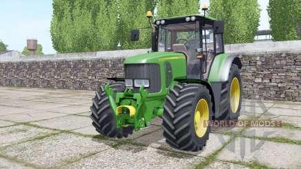 John Deere 6330 Michelin tires pour Farming Simulator 2017
